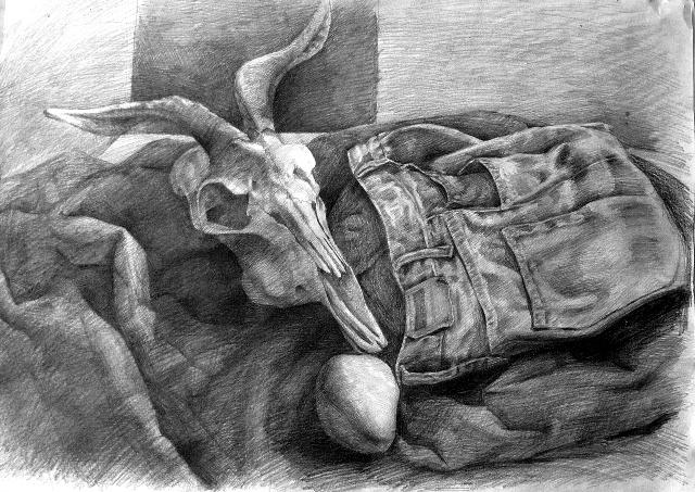 素描牛仔画法步骤