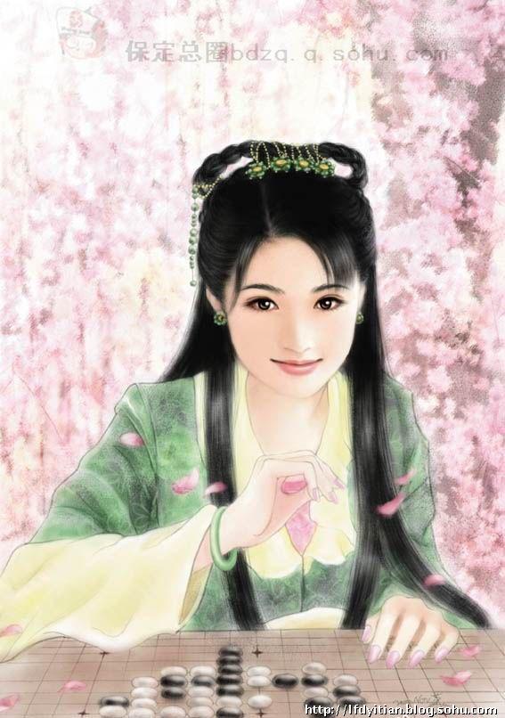 中国古代最美十五位女人