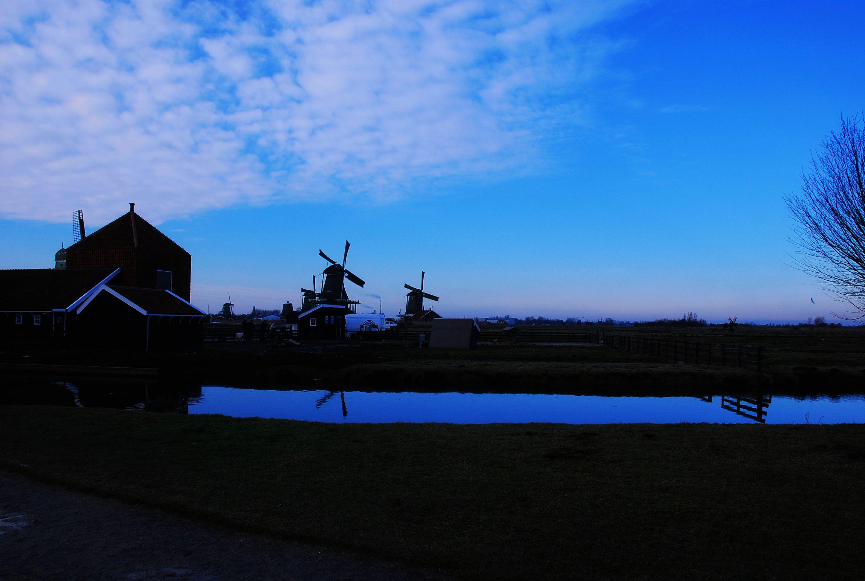 宁静自由的风车之国 荷兰