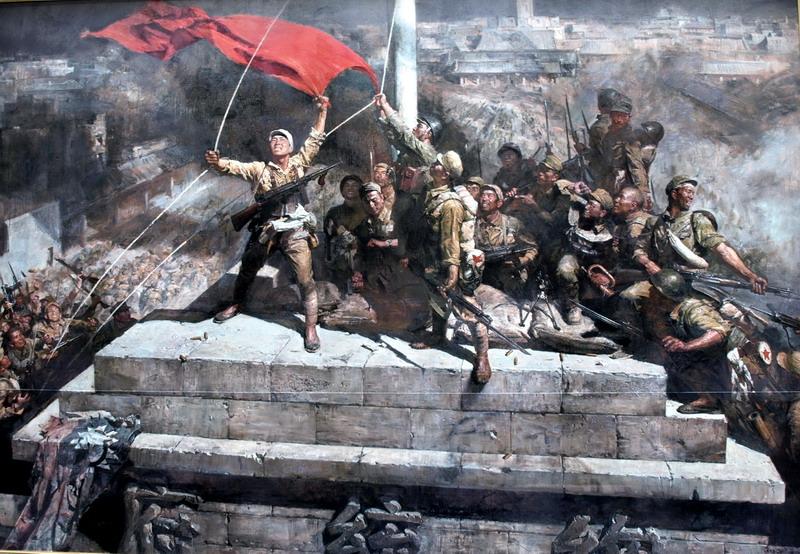 新落成的南京渡江胜利纪念馆