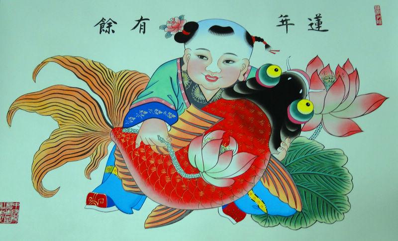 天津杨柳青木版年画博物馆-老头-搜狐博客
