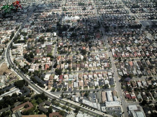洛杉矶城市街区