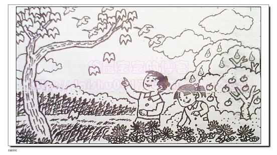 一年级看图写话春天_画画大全