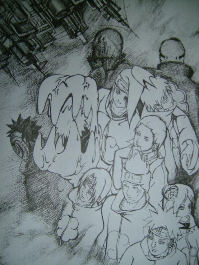 五张自己画的画…… - ァ火影忍者ぁ - 游戏动漫