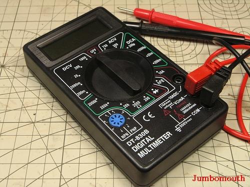 9V47型万用表电路图