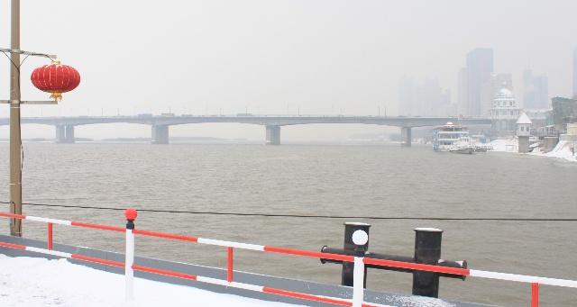 哈尔滨现在有雪吗