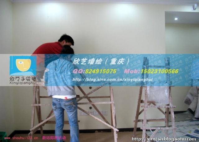 重庆墙绘,重庆手绘涂鸦,天工太阳岛手绘墙0/?