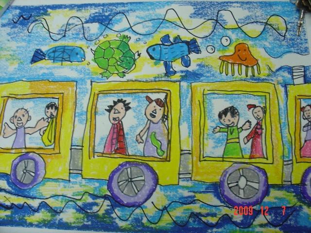 二年级儿童梦想画