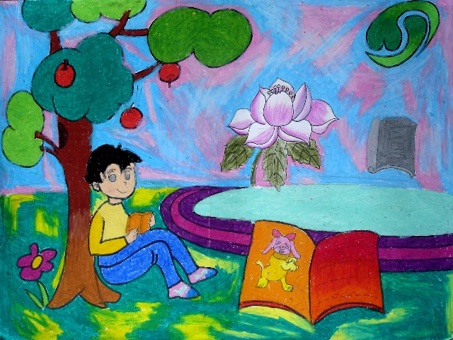 儿童画 900_645图片