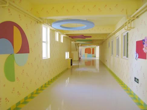 幼儿园走廊装修效果图21幅 幼儿园走廊布置注意事项