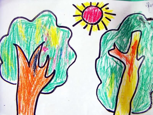 母亲节幼儿园手工制作手指画