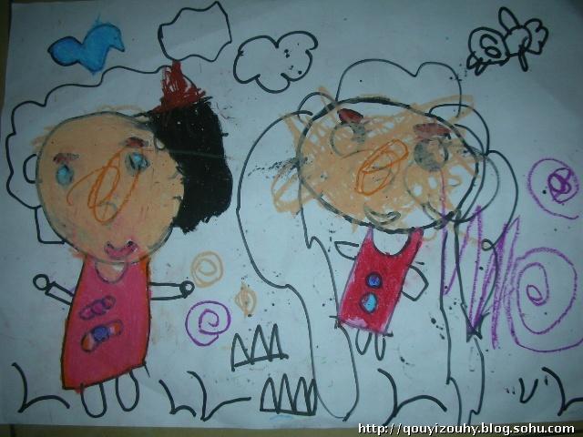 蜻蜓简笔画 蜻蜓图片欣赏 蜻蜓儿童画画作品 蜻蜓蝴蝶蜜蜂简笔画 牛