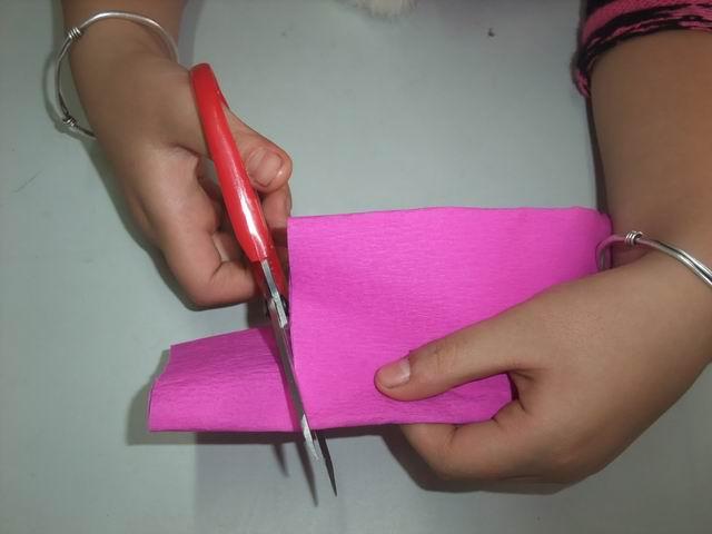 """【家居diy】 教你制作简单的 """"diy手工皱纹纸风信子"""""""