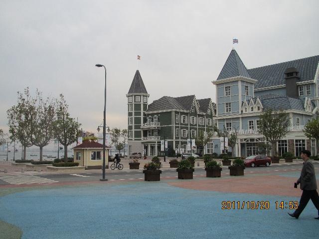烟台海边欧式建筑
