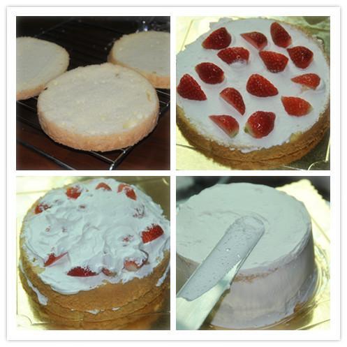 草莓鲜奶油蛋糕 我的结婚10周年蛋糕
