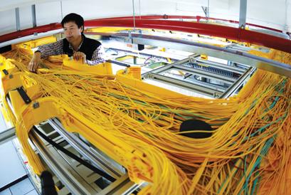 联通光纤入户工程为老