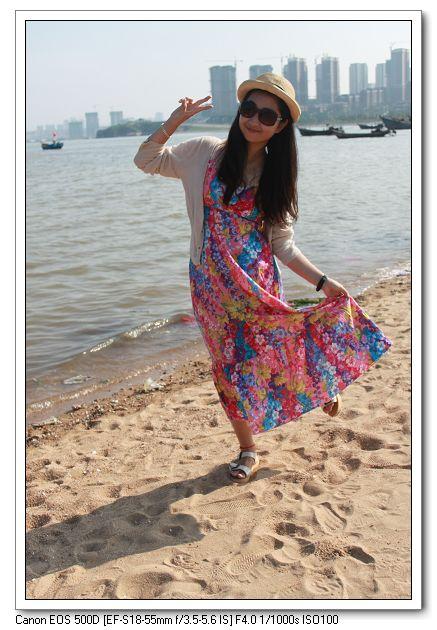 海边拍照摆pose