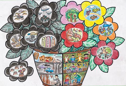 2011中国儿童环保绘画大赛作品(三)