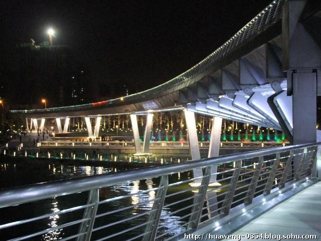壁纸 大桥 桥 桥梁 夜景 640_480