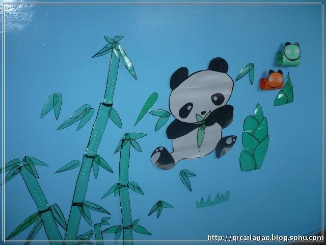 幼儿园纸工吊饰图片