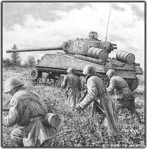 【手绘】铅笔画的极限!jody harmon笔下的《坦克世界》