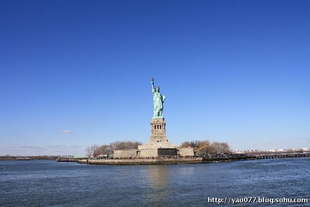 纽约哈得孙河景观