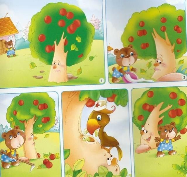 幼儿看图说话 发展幼儿的语言表达能力 启航幼图片