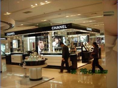 香奈儿(chanel)化妆品店面设计店面装修效果图ch-698