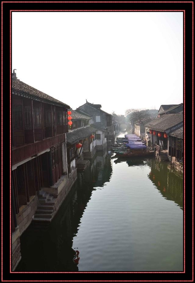 (江南水乡.周庄)高清图片