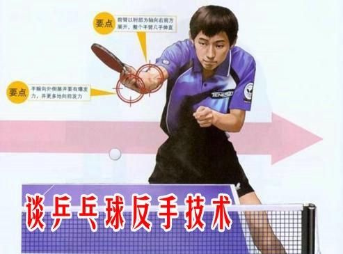 【球技转帖】谈乒乓球反手技术